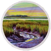 Tidal Stream Round Beach Towel