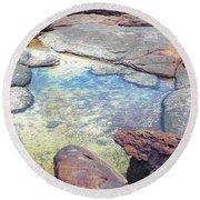 Tide Pool Round Beach Towel