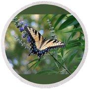 Tiger Swallowtail 1 Round Beach Towel