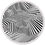 Tihtrowtisi Round Beach Towel