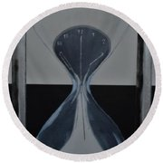 Time After Time Round Beach Towel