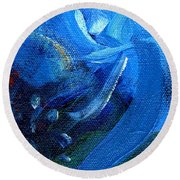 Time Essence Two Round Beach Towel