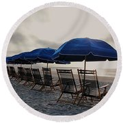 Time-out Chairs Round Beach Towel