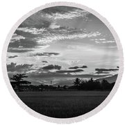 Timeless Sunsets Round Beach Towel
