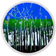 Times And Seasons Round Beach Towel
