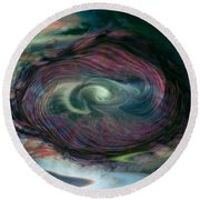 Timewarp Round Beach Towel