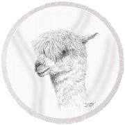 Timothy Round Beach Towel