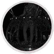 Tinker Bell Round Beach Towel by Rob Hans