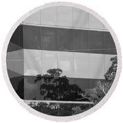 Tinted Glass Round Beach Towel