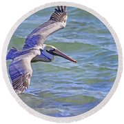 Tip Of The Wing Round Beach Towel