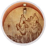 To Bethlehem Round Beach Towel