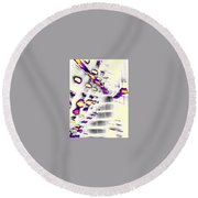 To The Other Side Round Beach Towel