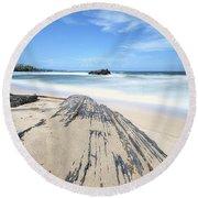 Toco Beach Round Beach Towel