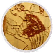 Today - Tile Round Beach Towel