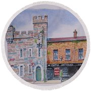 Toll House  Limerick Round Beach Towel