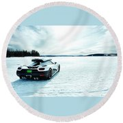 Top Gear Round Beach Towel