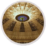 Top Of The Dome Round Beach Towel