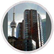 Toronto 1 Round Beach Towel