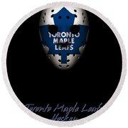 Toronto Maple Leafs Established Round Beach Towel