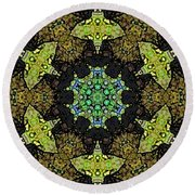 Tortuga  Round Beach Towel