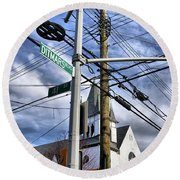 Totally Wired Round Beach Towel