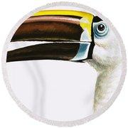 Toucan Round Beach Towel