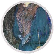 Toulouse-lautrec: J.avril Round Beach Towel