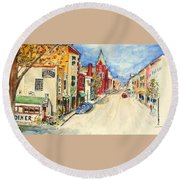 Towanda Pa Round Beach Towel