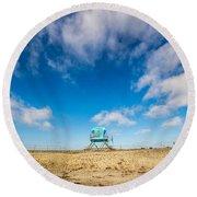 Tower 20 South Ponto Round Beach Towel
