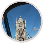 Tower Bridge Round Beach Towel