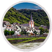 Town Of Kestert Round Beach Towel