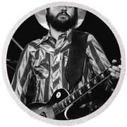 Toy Caldwell Live Round Beach Towel