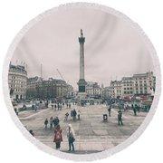 Trafalgar Square Round Beach Towel