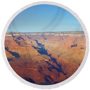Trailview Overlook Iv Round Beach Towel