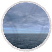 Tranquility 1 Round Beach Towel
