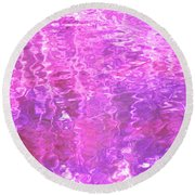 Transcend The Ripples Round Beach Towel