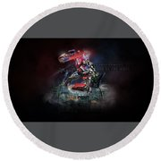 Transformers Dark Of The Moon Round Beach Towel