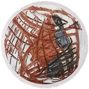 Trashed - Tile Round Beach Towel