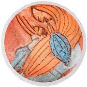 Treasures - Tile Round Beach Towel