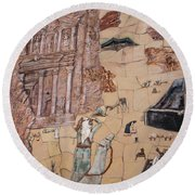 Treasury Mosaic Round Beach Towel
