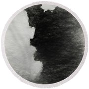 Tree Bark Collection # 46 Round Beach Towel