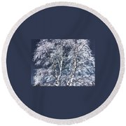 Tree Fantasy 14 Round Beach Towel