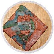 True Shepherd - Tile Round Beach Towel