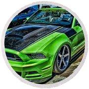 Truefiber Mustang Round Beach Towel