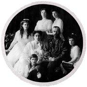Tsar Nicholas II And His Family - 1913 Round Beach Towel