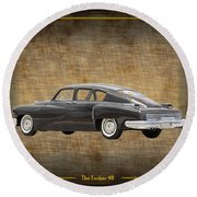 Tucker 48 Round Beach Towel