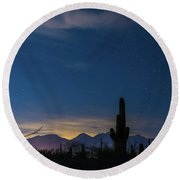 Tucson23 Round Beach Towel