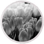 Tulip 33 Round Beach Towel