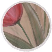 Tulip Series 2 Round Beach Towel