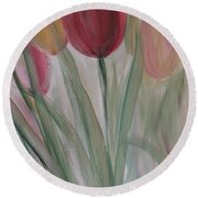 Tulip Series 3 Round Beach Towel